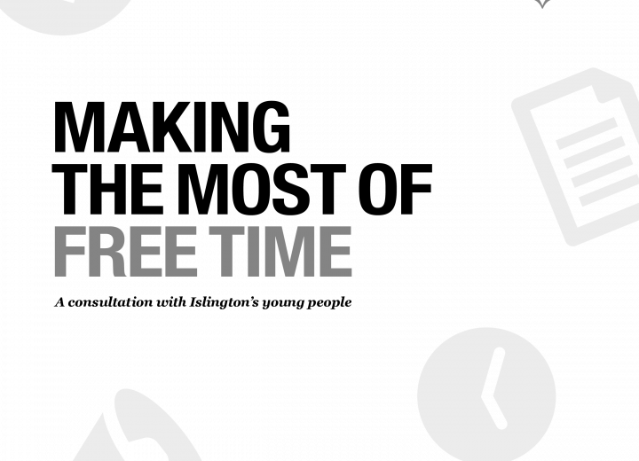 Islington Giving: Making the Most of Free Time